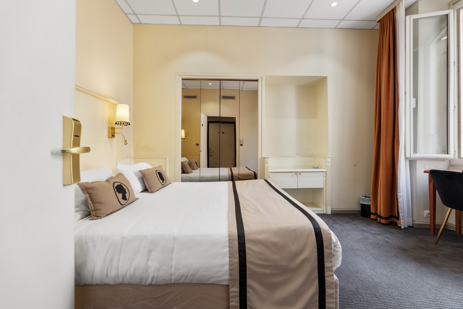 The rooms : quiet and comfortable